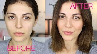 How To LOOK BEAUTIFUL WITH NO MAKEUP
