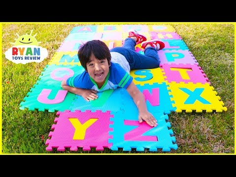 ABC Song Learn English Alphabet for Children with Ryan!   ABC phonics + More Kids Nursery Rhymes