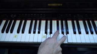 "Easy-to-Play Piano ""The Anchor Holds"" - (Matt McCoy)"