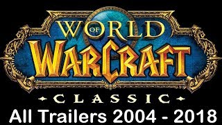 World of Warcraft - All Cinematics in Order HD (2018) + NEW Battle for Azeroth & WoW Classic Vanilla