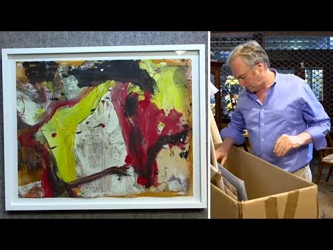 A New York art dealer discovered hidden treasure locked away in a storage facility in New Jersey.  David Killen paid $15,000 for the storage locker in Ho-Ho-Kus containing contents from the studio of an art conservator.
