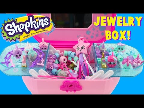 shopkins jewelry box collection shopkins jewelry box collection with zara gold lippy 100
