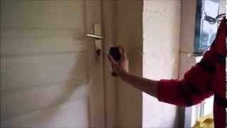 Comment ouvrir une porte sans clé