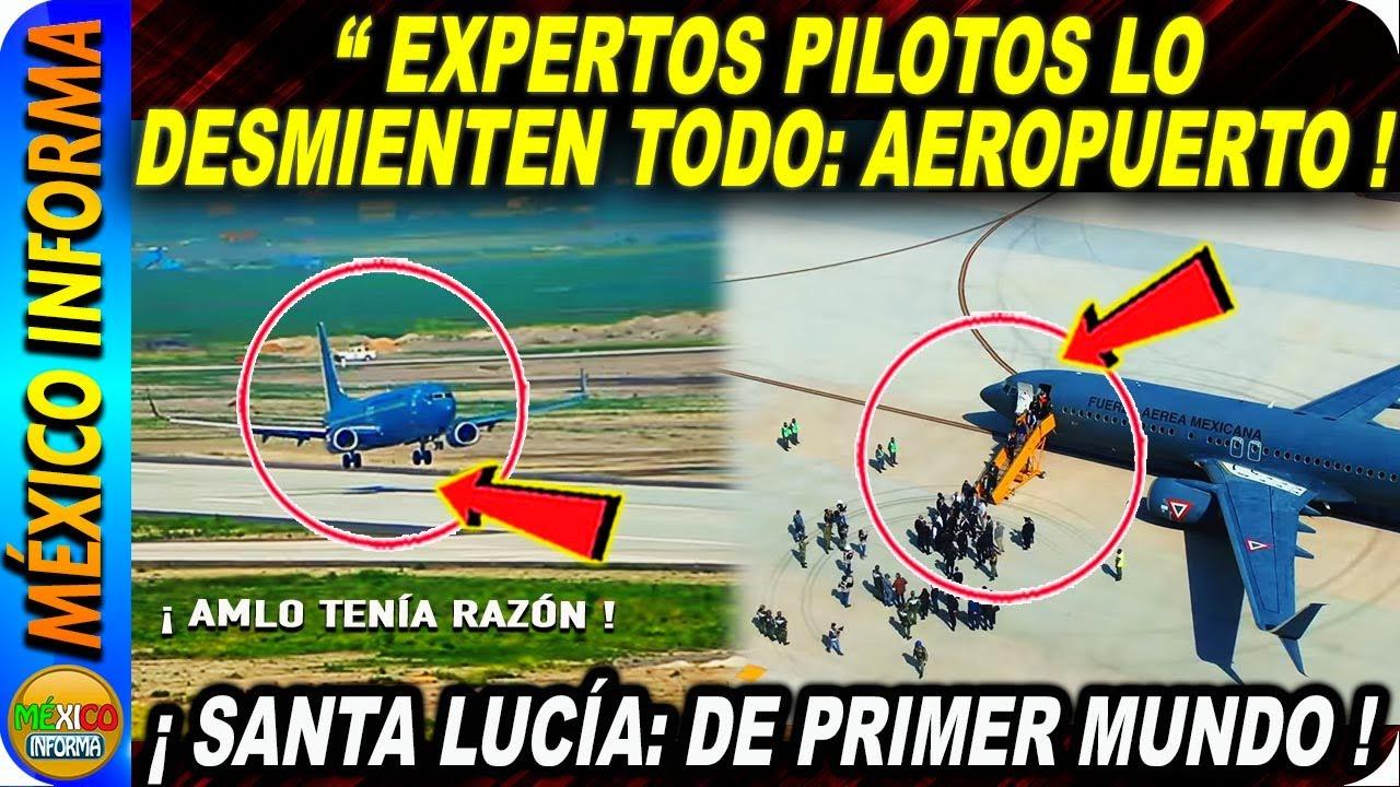 AEROPUERTO FELIPE ANGELES SORPRENDE A PILOTOS EXPERTOS
