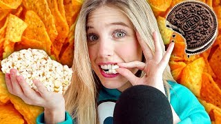 ASMR COMIENDO COMIDA MUY CRUJIENTE (Extremely eating crunchy sounds)