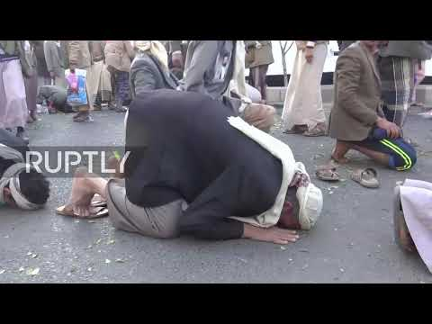 Yemen: Houthis rally against 'treachery' after Saleh's death