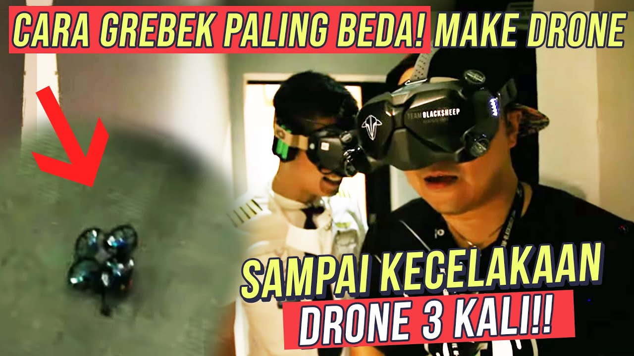 KECELAKAAN PILOT DRONE AKROBATIK!! KEWALAHAN DIKASIH CHALLENGE NERBANGIN CESSNA 172 FENOMENAL!!