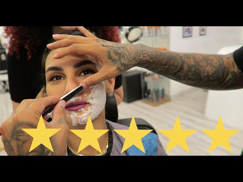 [video] I Went To The Best Reviewed Barbershop In Dubai !!!