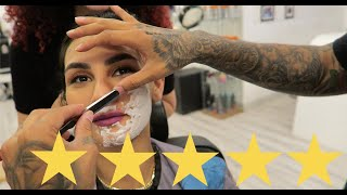 I WENT TO THE BEST REVIEWED BARBERSHOP IN DUBAI !!!