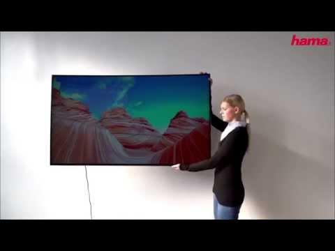 Hama Support mural TV FULLMOTION