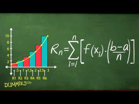How To Find Approximate Area Using Sigma Notation For