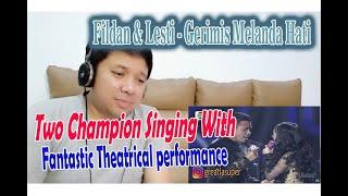 "Download FANTASTIC THEATRICAL PERFORMANCE!! Fildan Feat Lesti - ""Gerimis Melanda Hati"" Reaction"