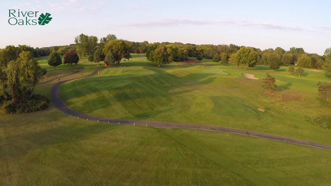 River Oaks Golf Course Aerial Drone Tour