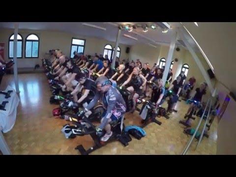 MedFit Indoorcycling-Marathon am 16.01.2016 Stunde 1