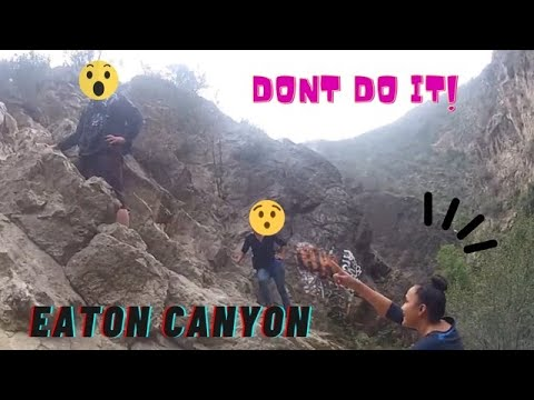 eaton canyon hike(trail to the second waterfall)
