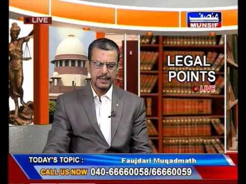 Faujdari Cases - LEGAL POINT LIVE