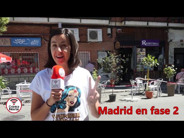 TODAS Las novedades de la FASE 2º en la Comunidad de Madrid