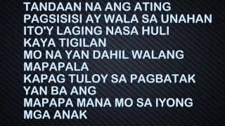 Repeat youtube video Kabataan Kontra Droga W/ Lyrics - Black St. Krew