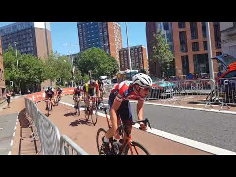 bristol grand prix cycle race 8 July 2018.