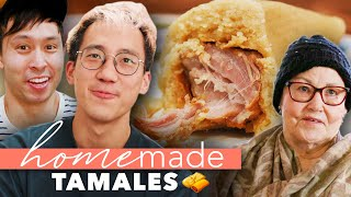 Pro Chef Vs. Grandma's Homemade Tamales • Homemade