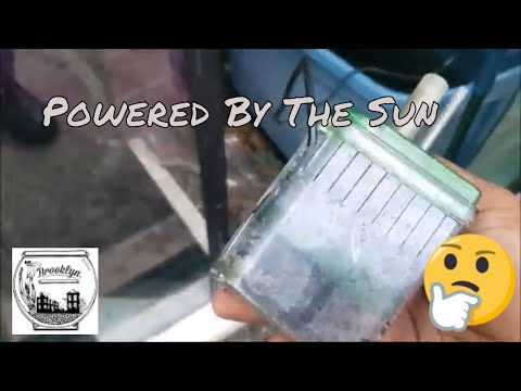 Making A Solar Powered Box Filter