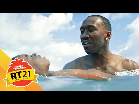 21 Most Memorable Movie Moments: Juan Teaches Chiron to Swim in Moonlight (2016)