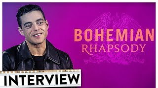 BOHEMIAN RHAPSODY Interview   Rami Malek als Freddie Mercury