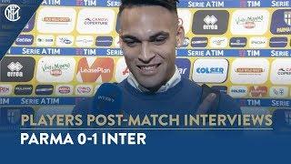 PARMA 0-1 INTER | LAUTARO MARTINEZ INTERVIEW: