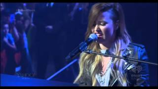 Demi Lovato - Warrior + Speech (iHeartRadio Live)
