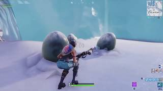 FORTNITE DRACHENEIER FOUND!!! polar peek secret space glitch !! SAISON 8 ?