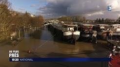 La crue de la Seine avec les bateliers de Conflans-Sainte-Honorine