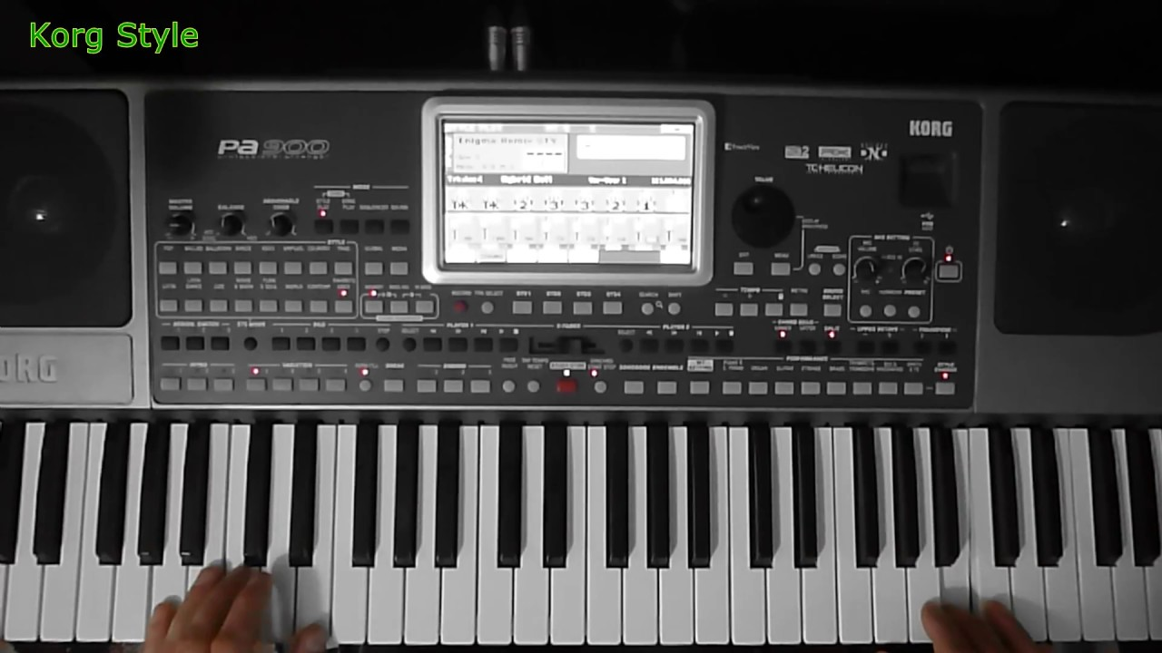 KorgStyle & Enigma -Sadeness Remix (Korg Pa 900) DemoVersion