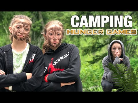 Hunger Games While Camping!   Behind the Braids Ep.33