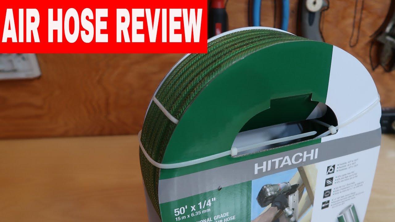 HITACHI AIR HOSE REVIEW 50' x 1/4 TOOL REVIEW TUESDAY ...