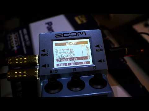 Volca Keys & Zoom MS-70CDR Stomp Pedal