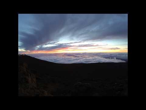 Sunset on Haleakalā, Maui