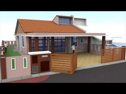 Rekabentuk Ubahsuai Rumah Teres 1 Tingkat End-Lot Seksyen 4 Shah Alam - YouTube & Rekabentuk Ubahsuai Rumah Teres 1 Tingkat End-Lot Seksyen 4 Shah ...