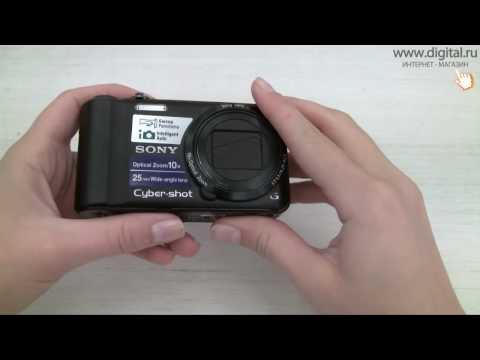 Видеообзор фотокамеры Sony Cyber-shot  DSC-H55