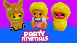 Party Animals Fun Cute Little Bears Costume Toy Review Unboxing Cookieswirlc
