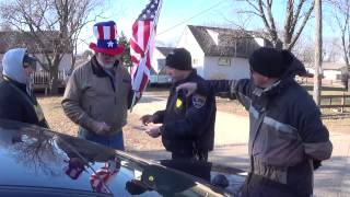 town of campbell wi police write citations for displaying us flag