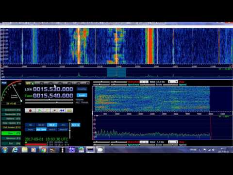 Radio Kuwait english with good signal 15540 Khz Shortwave Afedri SDR