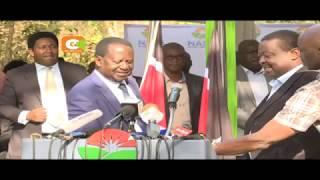Raila atilia shaka idadi ya wapiga kura waliojitokeza  Alhamisi