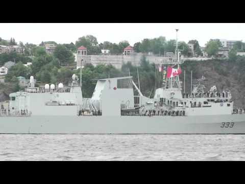 Rendez-vous naval de Québec - Capsule vidéo 100e Marine canadienne 10/19