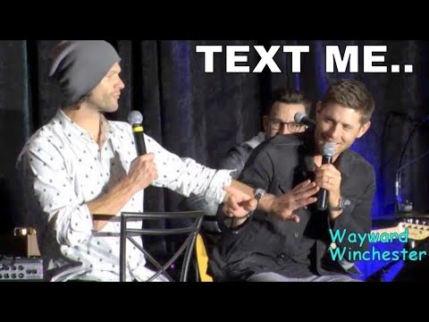 Jensen Ackles Flirting With Fans At Conventions