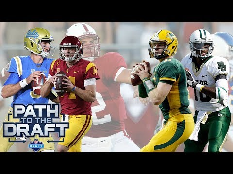How do Rosen & Darnold Compare to the Top 10 QB Prospects Since 2012?   Path to the Draft   NFLN