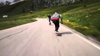 Skateboarders  in the ALPS. music: Arpegiator  by Jean Michel Jarre