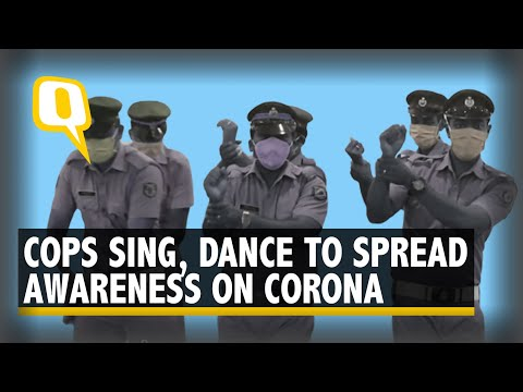 Watch Cops Sing