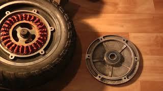 Разбалансировка колес Kugoo G booster