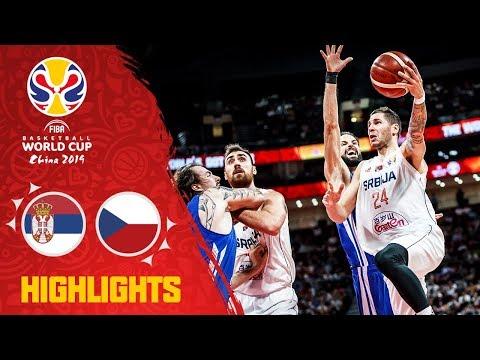 Serbia v Czech Republic - Highlights - FIBA Basketball World Cup 2019