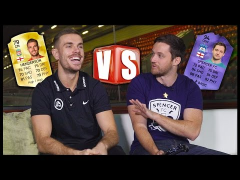 SPENCER VS JORDAN HENDERSON! FIFA 16